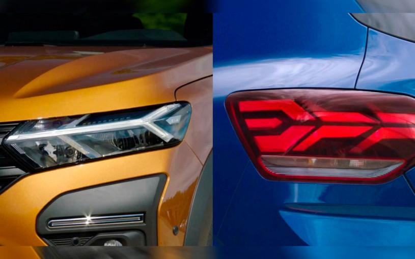 Renault показал оптику нового Sandero