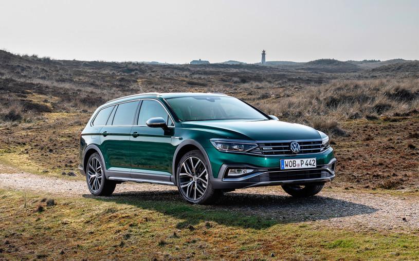 Volkswagen привез в Россию полноприводный универсал Passat Alltrack