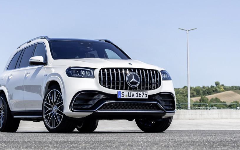 Mercedes представил мощнейшую версию флагманского кроссовера GLS