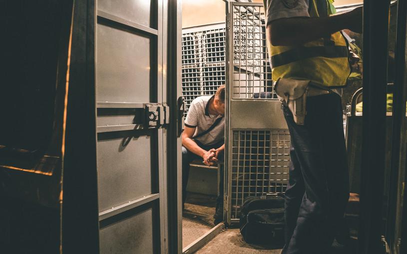 ГИБДД арестовала водителя на двое суток за езду без ОСАГО