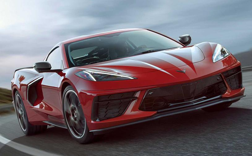 Chevroletпредставил среднемоторный Corvette