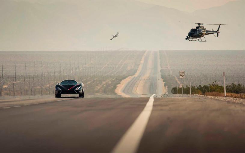 Гиперкар SSC Tuatara установил мировой рекорд скорости. Видео