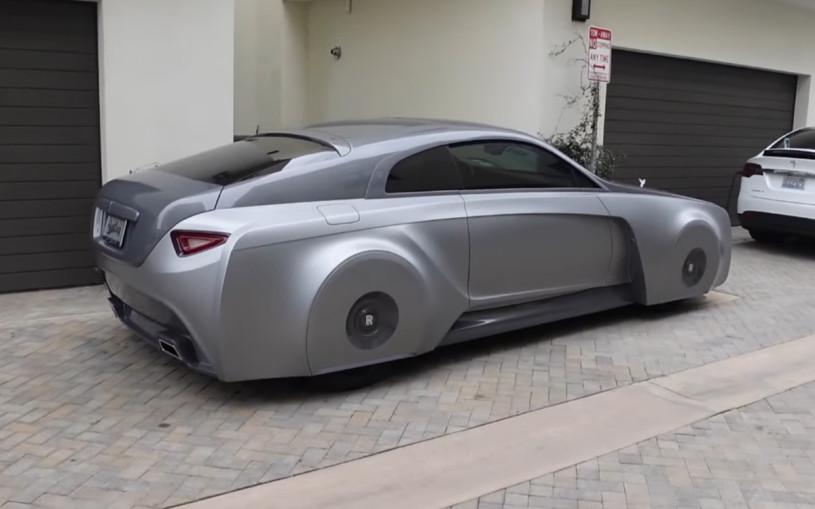 Как выглядит футуристичный Rolls-Royce Джастина Бибера. Видео