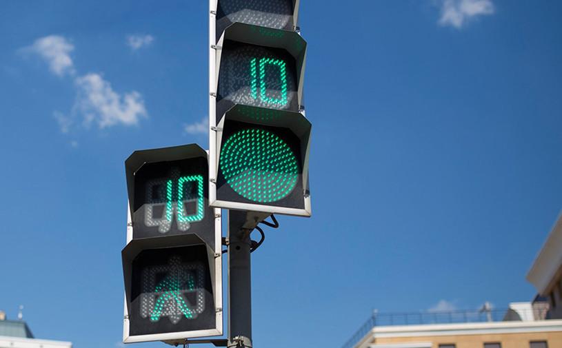 В России светофоры получат новый предупреждающий знак