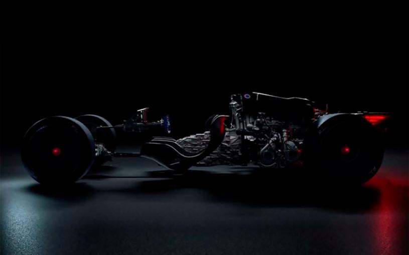 Компания Bugatti показала шасси таинственного гиперкара