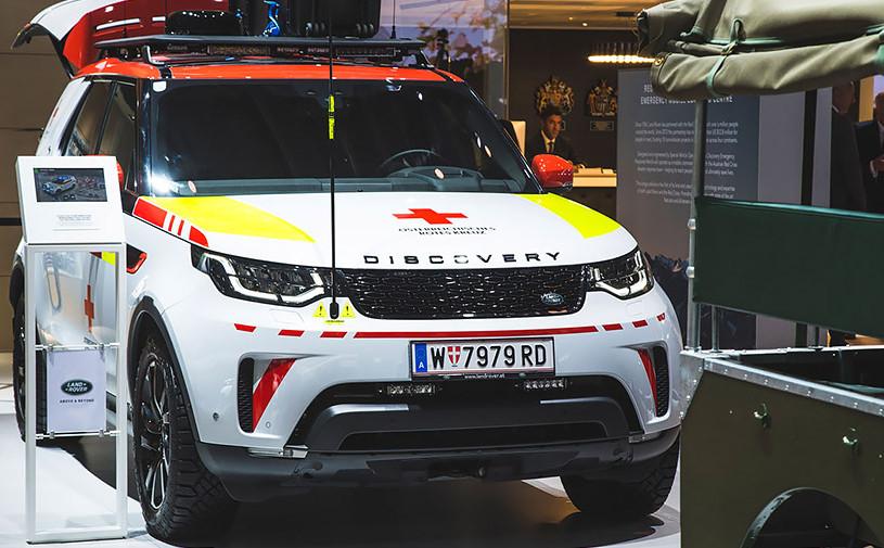 Land Rover Discovery превратили в автомобиль для спасателей