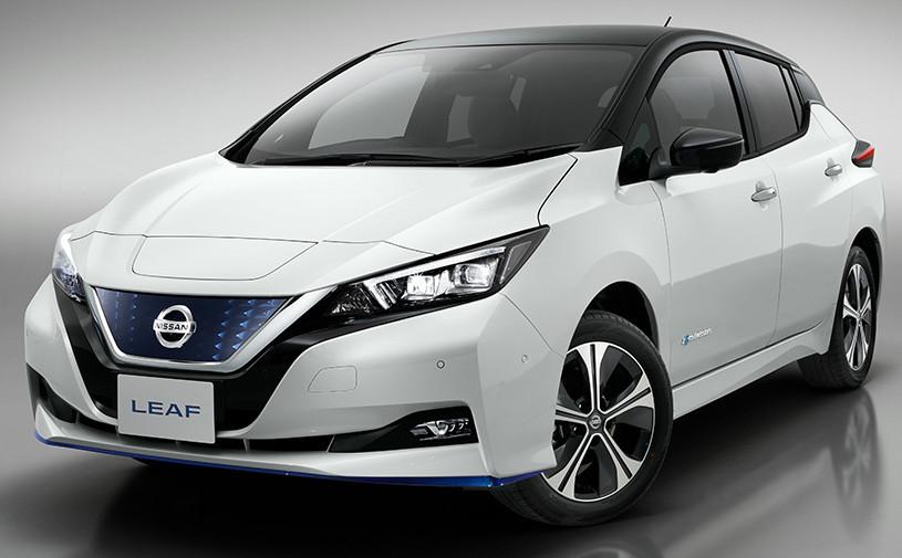 Nissan увеличил мощность и запас хода нового Leaf