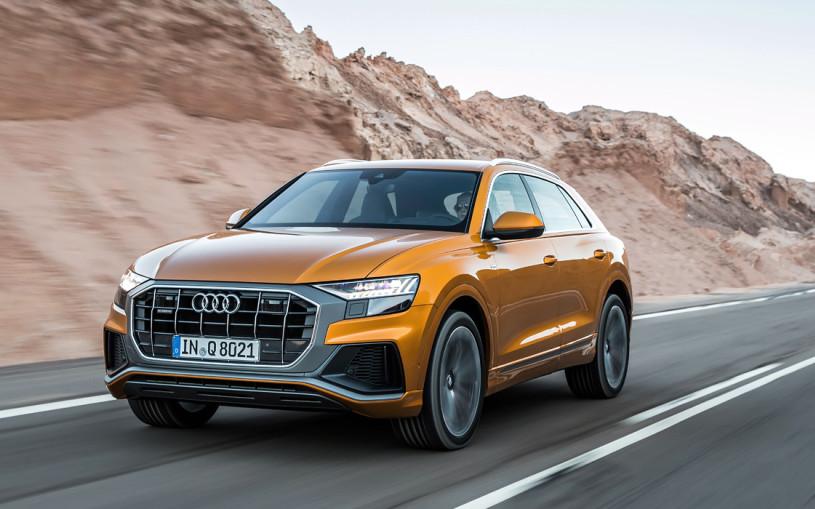 Audi назвала рублевую стоимость дизельного кроссовера Q8