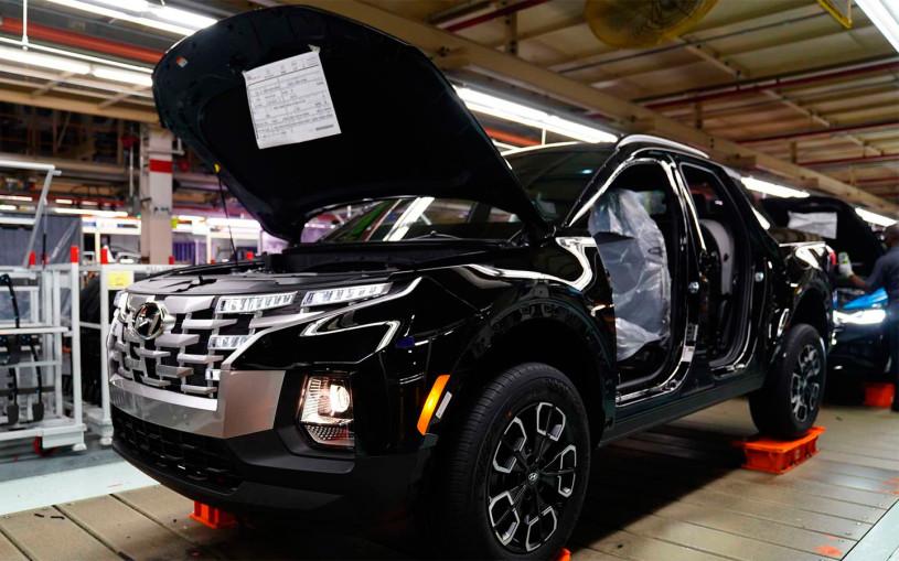 Hyundai запустил в производство пикап Santa Cruz на базе Tucson