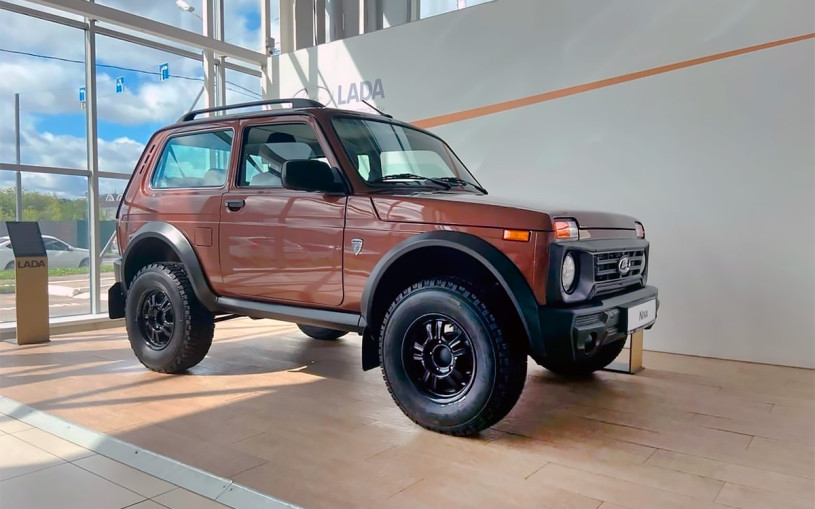Стала известна стоимость обновленного внедорожника Lada Niva Bronto
