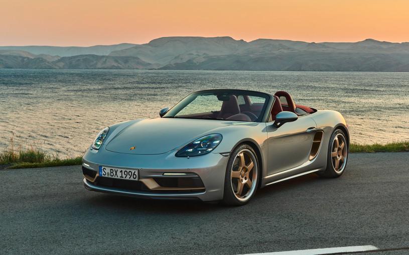 Porsche назвал российские цены на юбилейный Boxster 25