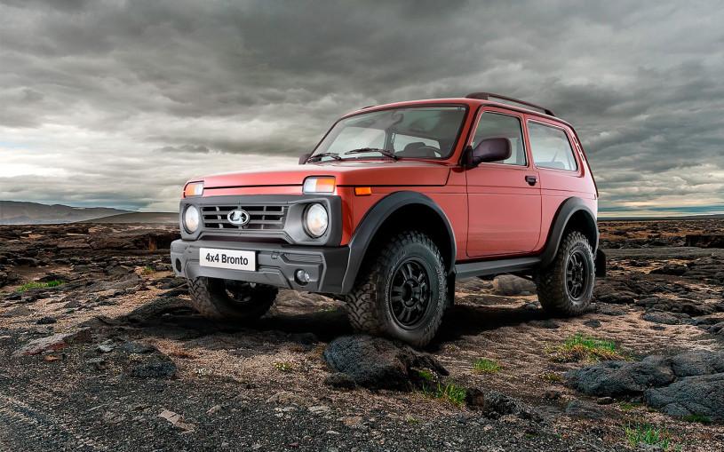 Названы сроки начала продаж обновленного внедорожника Lada Niva Bronto
