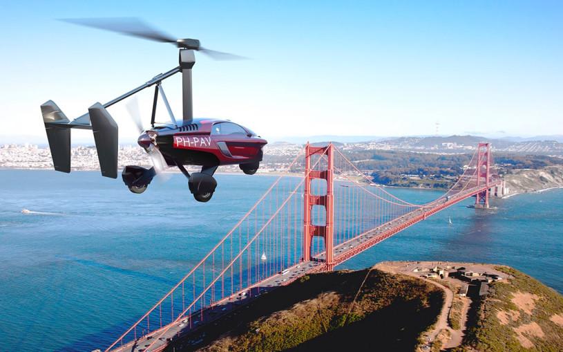 В Женеве дебютирует первый в мире серийный летающий автомобиль