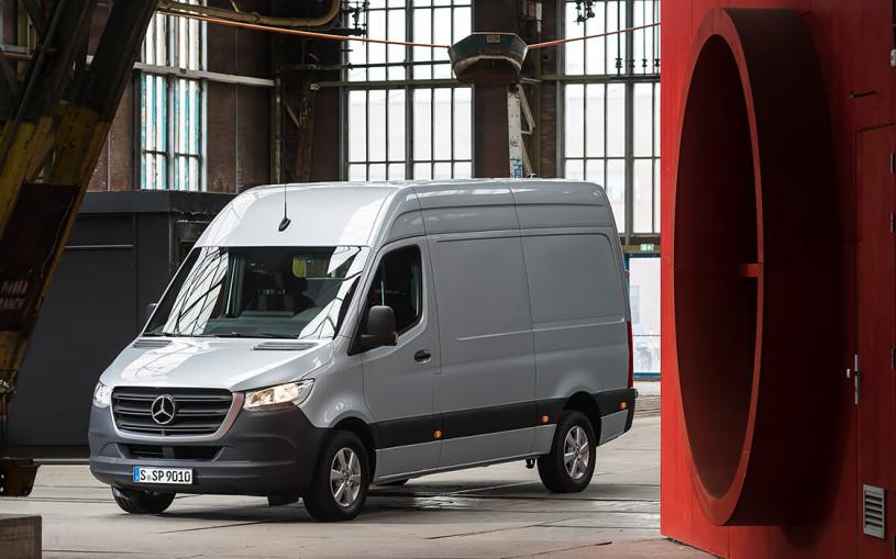 Фургон онлайн. Тест-драйв нового Mercedes Sprinter