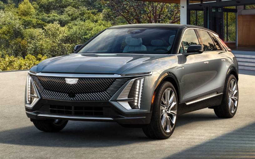 Cadillac представил серийный электрический кроссовер Lyriq