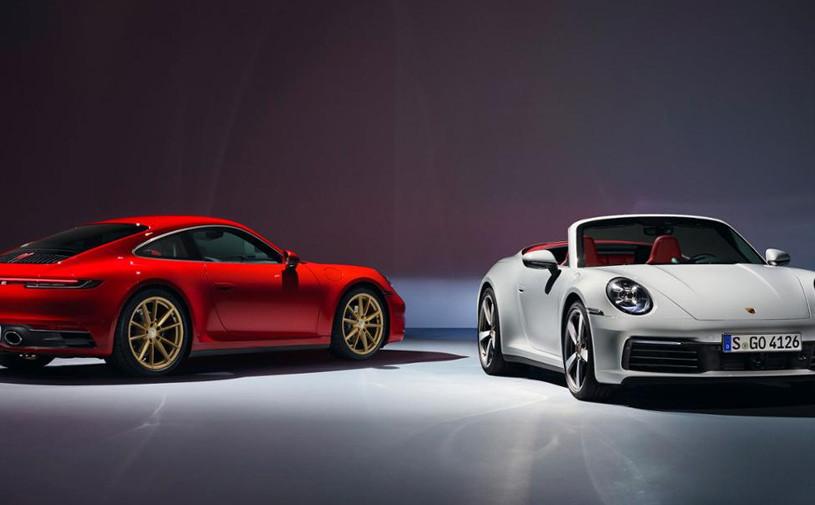 Новый Porsche 911 Carrera 4 получил полный привод и 385-сильный мотор