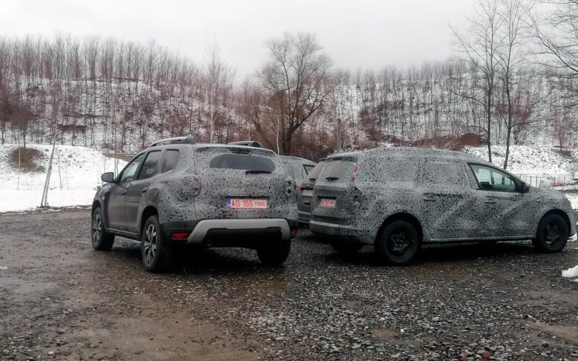 Начались испытания семиместного кроссовера Renault Grand Duster