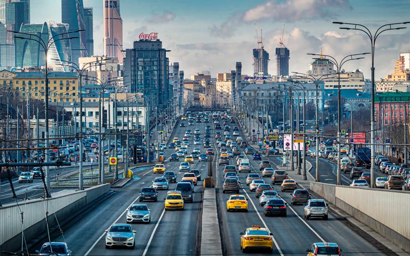 Власти заявили об увеличении въезжающих в Москву машин во время пандемии