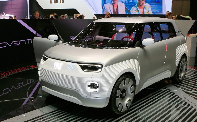 Fiat намекнул на новую Panda концепт-конструктором