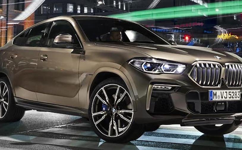 Новый BMW X6 рассекретили перед премьерой
