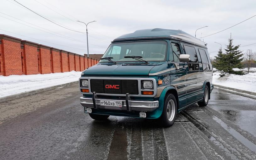 Автобус с сюрпризом. Тест-драйв необычного Chevy Van