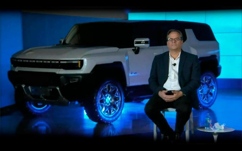 GM анонсировал выпуск электрического внедорожника Hummer