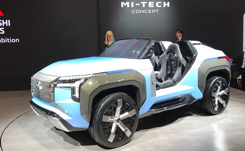 Mitsubishi создал багги с газовой турбиной и дополненной реальностью