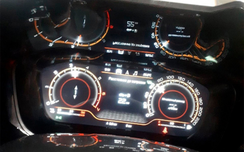 Интерьер обновленной Lada Vesta рассекретили до премьеры. Фото