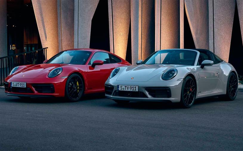 Porsche назвала российскую стоимость новой 911 GTS