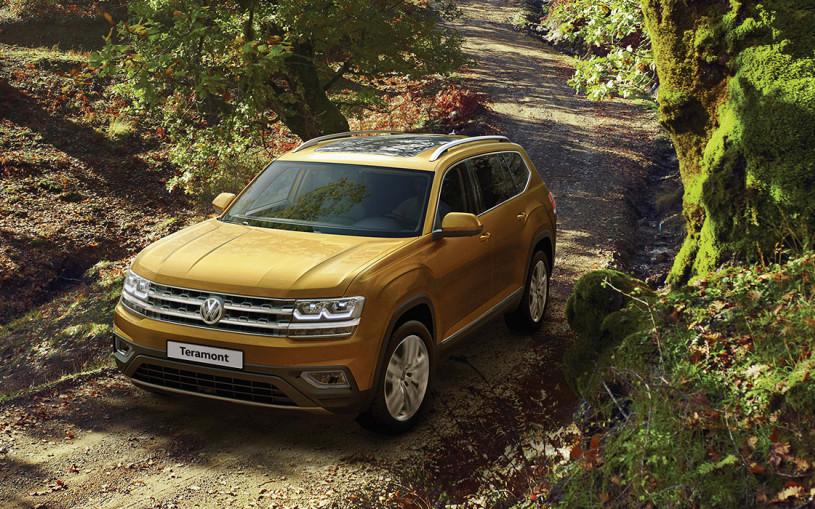 Volkswagen отзовет кроссоверы Teramont в России