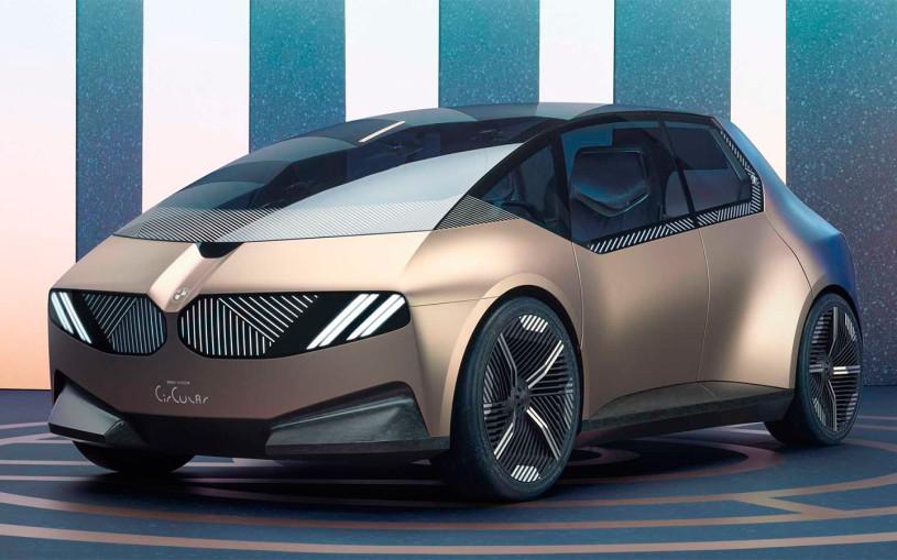 BMW показала электрокар из вторсырья. Фото