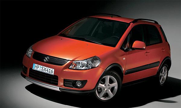 В России начались продажи Suzuki SX-4