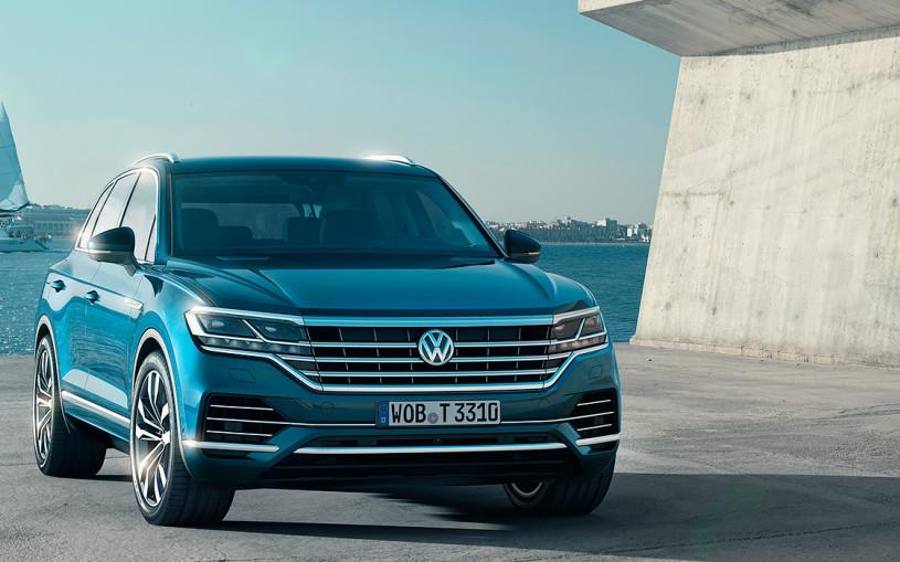 Volkswagenрассказал о новом Touareg для России