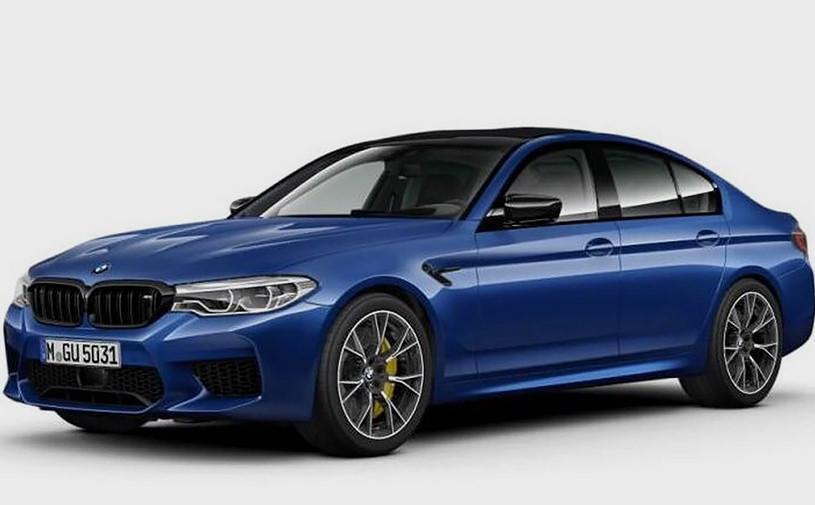 Самую мощную и быструю BMW M5 показали до премьеры
