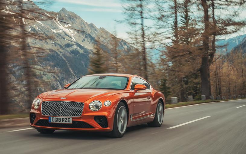 Вкалывают роботы. Тест нового Bentley Continental GT