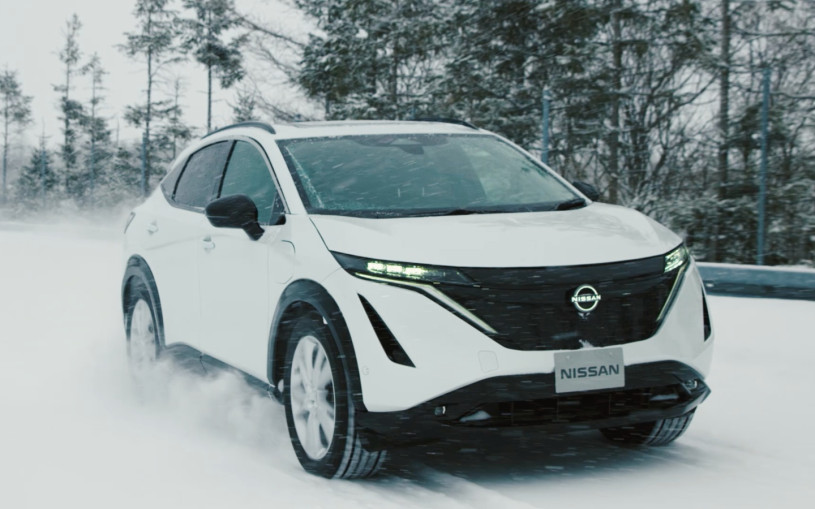 Nissan рассказал об испытаниях нового кроссовера Ariya