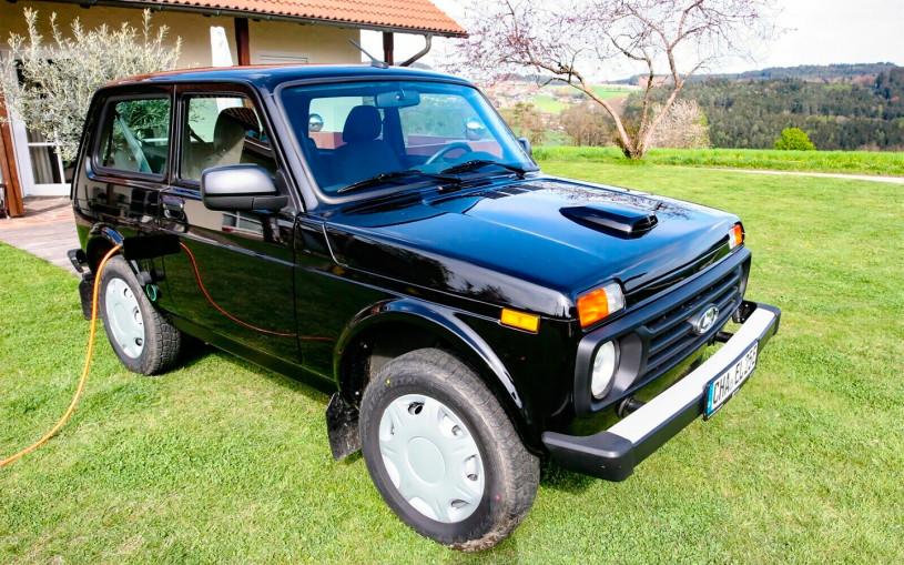 В Германии разработали электрическую Lada Niva. Фото и цены