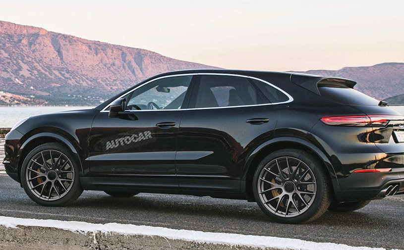 Porsche разработает кросс-купе Cayenne