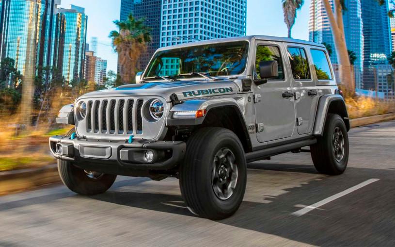 Jeep Wrangler стал 380-сильным гибридом с двумя электромоторами