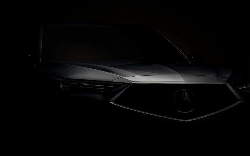 Acura анонсировала премьеру серийного кроссовера MDX нового поколения
