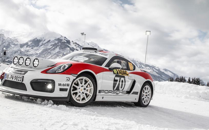 Porsche представил 718 Cayman для ралли