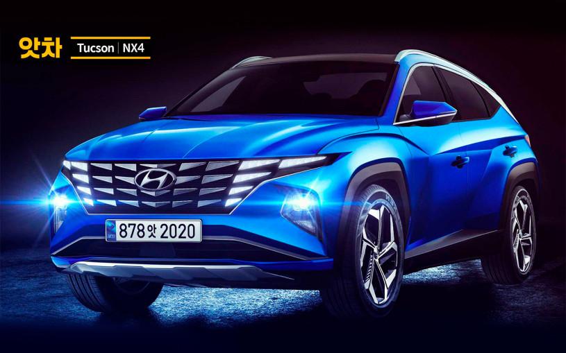 В сети рассекретили технические характеристики нового Hyundai Tucson