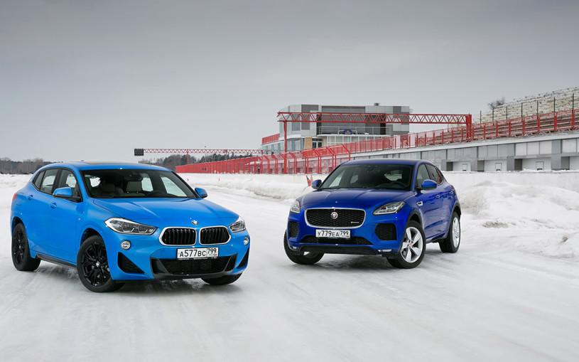 Все уровни спорта. BMW X2 против Jaguar E-Pace