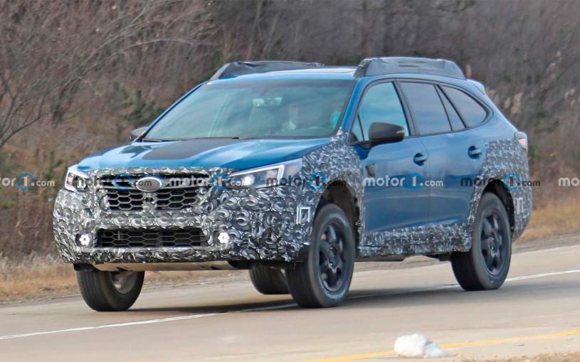Subaru вывел на тесты новую версию Outback для тяжелого бездорожья