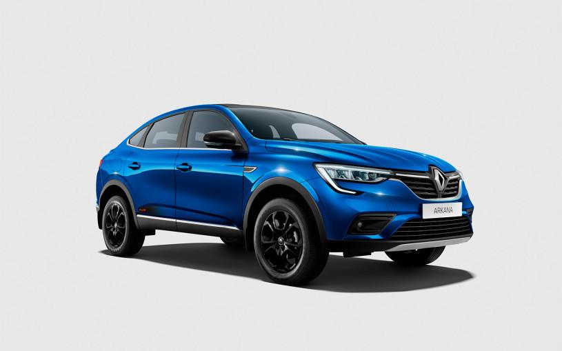 Renault назвала российские цены на особую версию Arkana