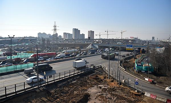 В Москве реконструируют 20 километров МКАД