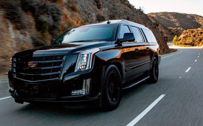 Cadillac Escalade превратили в роскошный броневик