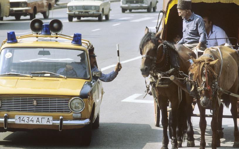На чем ездила ГАИ в СССР. Все самые необычные автомобили