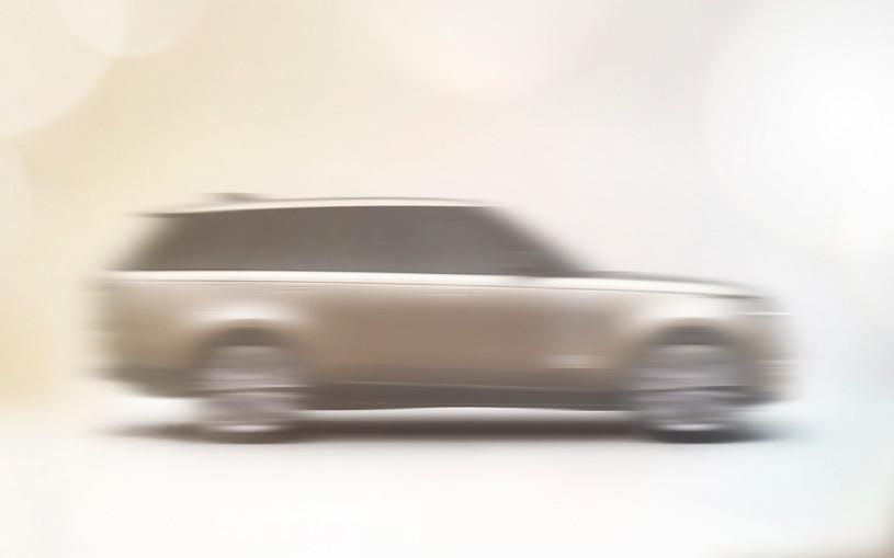 Появились первые изображения нового Range Rover