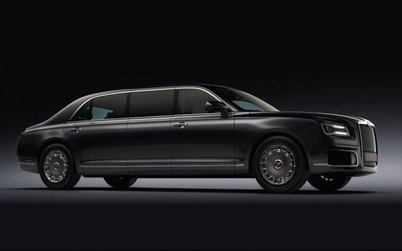 Начались продажи бронированных лимузинов Aurus стоимостью ₽100 млн